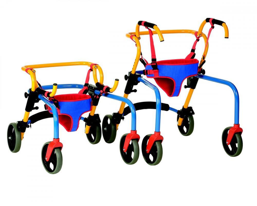 Rebotec Pluto gyermek rollátor (fordított gurulós járókeret)