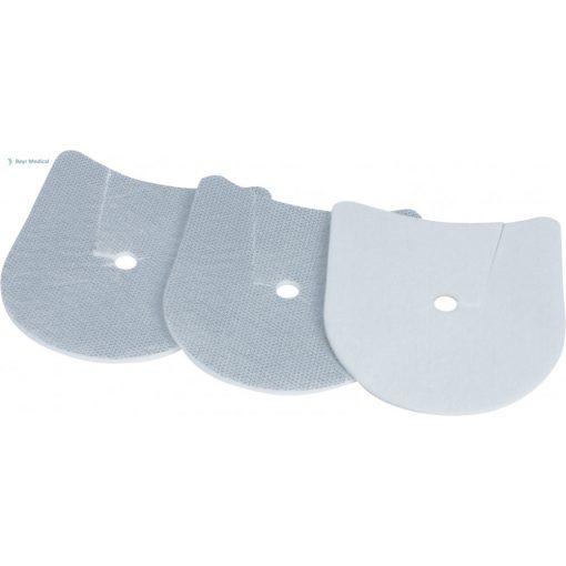 Sensotrach Uno PED Alu Slit sebpárna kanül takaró-alátét (10 db/csomag) - gyerek méret