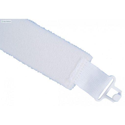 OPTIFLAUSCH® kanültartó pánt, kampós, fehér, 24-47 cm