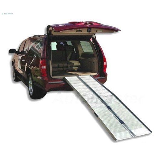 Kerekesszék rámpa, alumínium, összecsukható, 305 cm hosszú