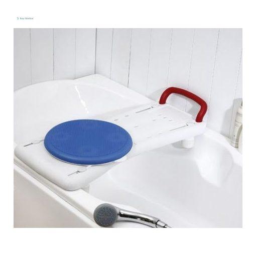 Fürdetőpad forgató koronggal  (GM 4295 kifordítható fürdőkádülőke)